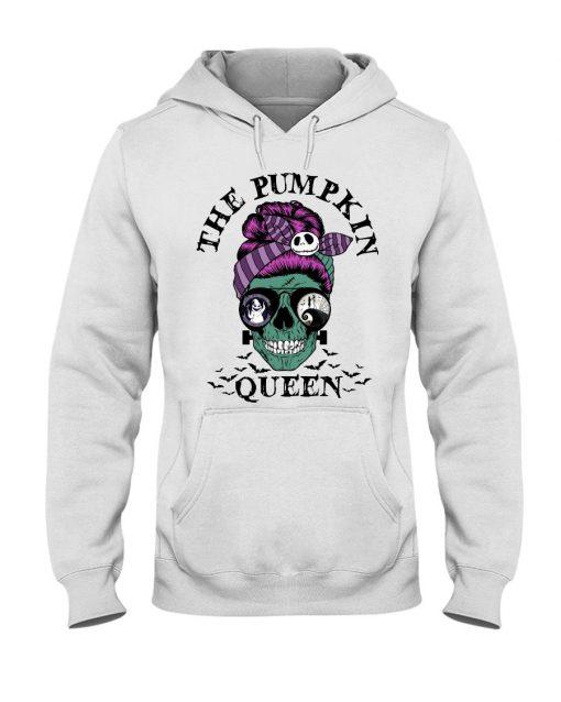 The Pumpkin Queen Skull Halloween Hoodie