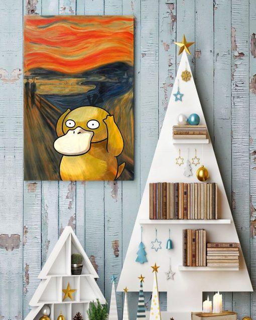The Scream Art Koduck Pokemon Poster3