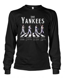 The Yankees - The Beatles The Abbey Road long sleeve