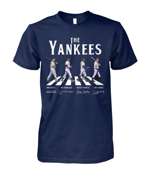 The Yankees - The Beatles The Abbey Road shirt