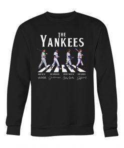 The Yankees - The Beatles The Abbey Road sweatshirt