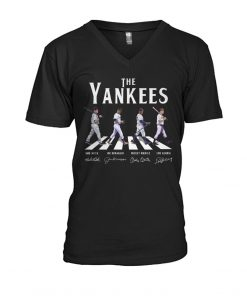 The Yankees - The Beatles The Abbey Road v-neck