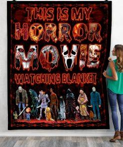 This Is My Horror Movie Watching Blanket 2