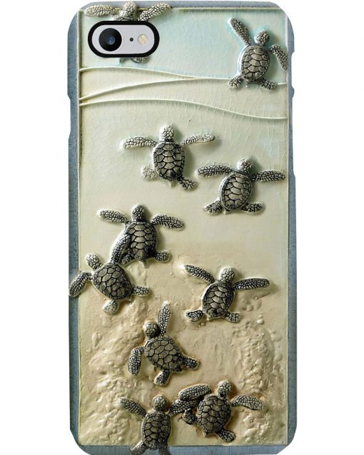 Turtles And The Sea Phone Case