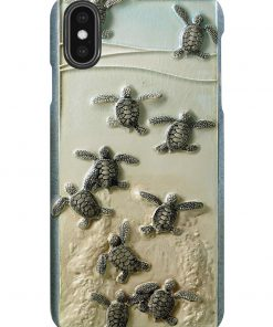 Turtles And The Sea Phone Case1