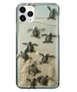 Turtles And The Sea Phone Case3