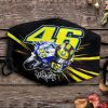 Valentino Rossi 46 signature face mask