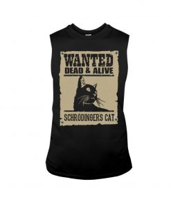Wanted Dead Or Alive Schrodinger's Cat tank top