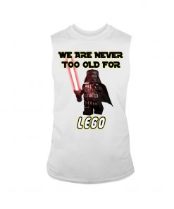 We are never too old for Lego tank top