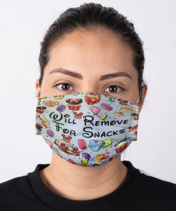 Will remove for snacks Disneyland face mask 1