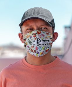 Will remove for snacks Disneyland face mask 3