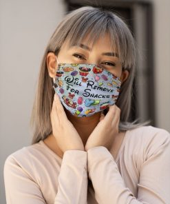 Will remove for snacks Disneyland face mask 4