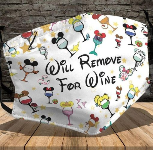 Will remove for wine mask