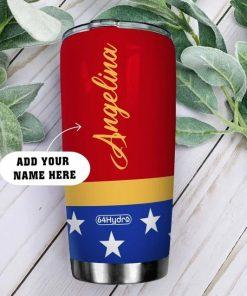 Wonder Woman Personalized Tumbler1