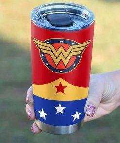 Wonder Woman Personalized Tumbler2