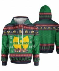 Wu-Tang Clan Christmas 3D All Over Print hoodie