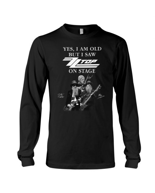 Yes I am old but I saw Top on stage long sleeve