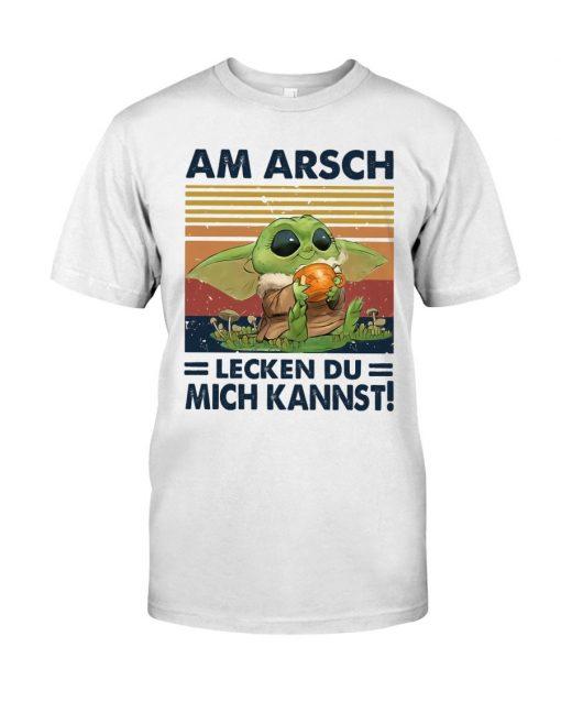 Yoda Am arsch lecken du mich kannst T-shirt