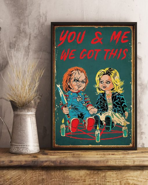 You can me got this Child's Play Chucky poster 1