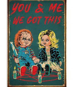 You can me got this Child's Play Chucky poster 2