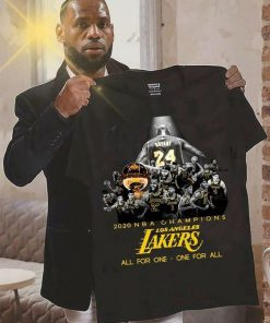 2020 NBA Champions Los Angeles Lakers All for one - one for all Sweatshirt