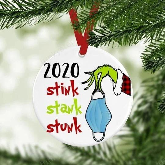 2020 Stink Stank Stunk Christmas Ornaments