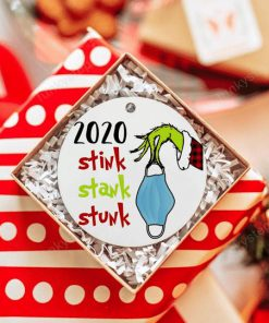 2020 Stink Stank Stunk Christmas Ornaments1