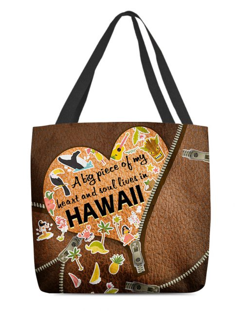 A big piece of my heart and soul lives in Canada as leather zipper tote bag 1
