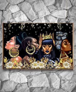 African American Melanin Queen Dape Unapologetically Dope Poster 3