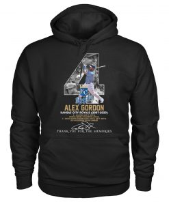 Alex Gordon Kansas City Royals 2007-2020 Hoodie
