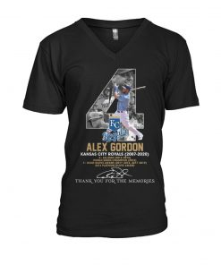 Alex Gordon Kansas City Royals 2007-2020 V-neck