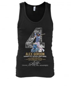 Alex Gordon Kansas City Royals 2007-2020 tank top