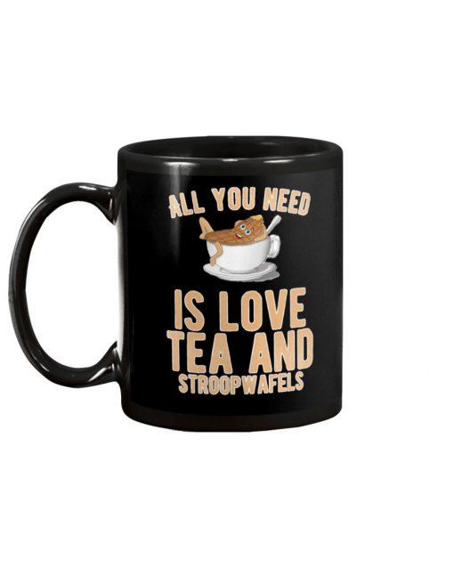 All you need is love tea and stroopwafels mug1