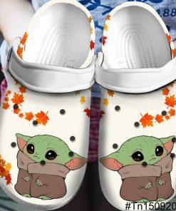 Baby Yoda Crocs Crocband Clog