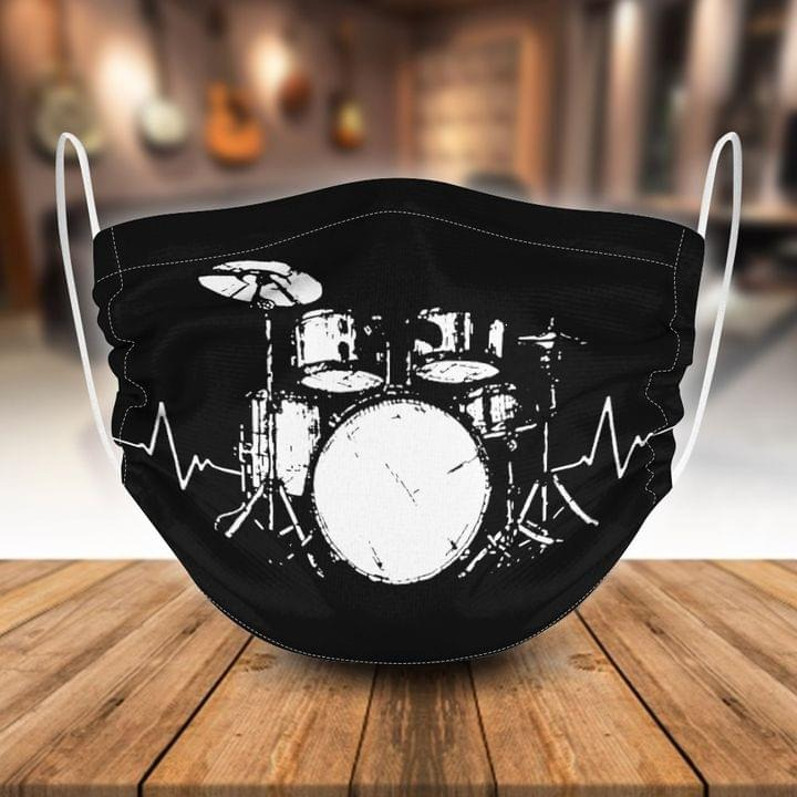 Band Stage Instruments face mask