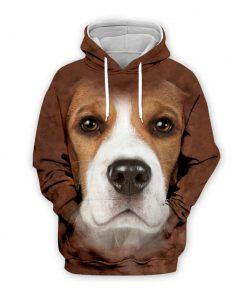 Beagle Dog 3D All Over Printed Hoodie