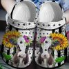 Cow Sunflower Crocs Crocband Clog
