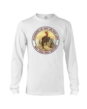 Cowgirl Assuming I'm just an old lady was your first mistake long sleeve