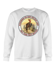 Cowgirl Assuming I'm just an old lady was your first mistake sweatshirt
