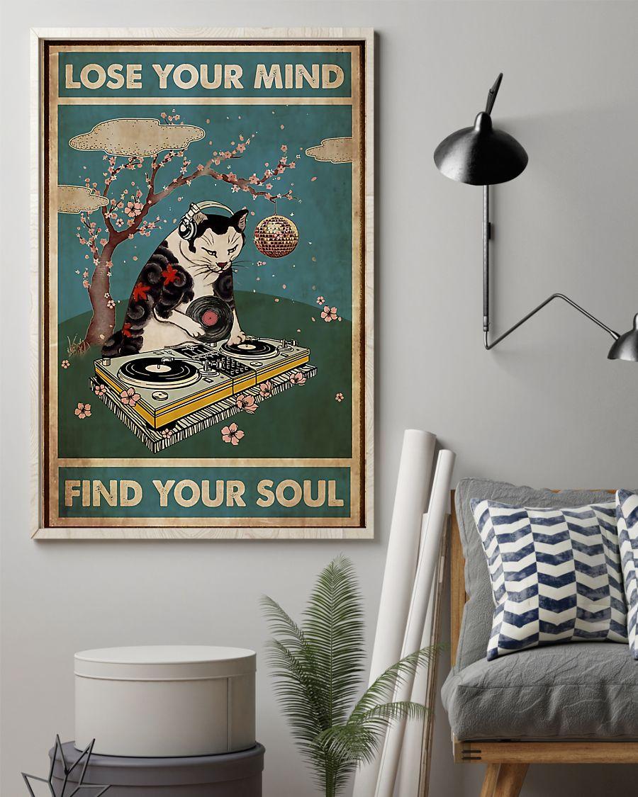 DJ Cat Lose Your Mind Find Your Soul Poster 1