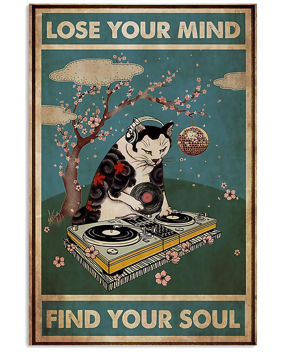 Hot Deal DJ Cat Lose Your Mind Find Your Soul Poster