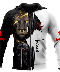 December Guy The devil saw me with my head down and thought he'd won until I said Amen 3D All Over Printed Zip Hoodie