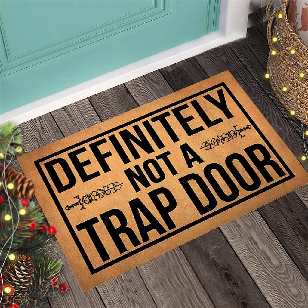 Definitely not a trap door doormat1