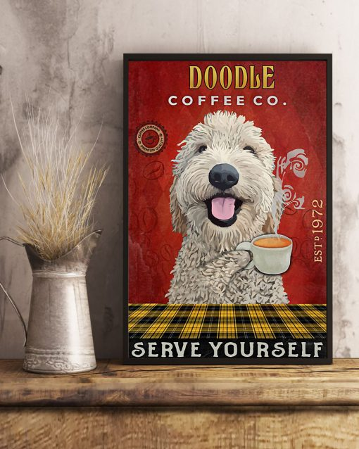 Doodle Coffee Company Serve Yourself Poster 2