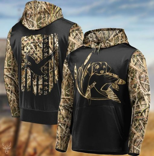 Duck hunting camo 3D All over print hoodie