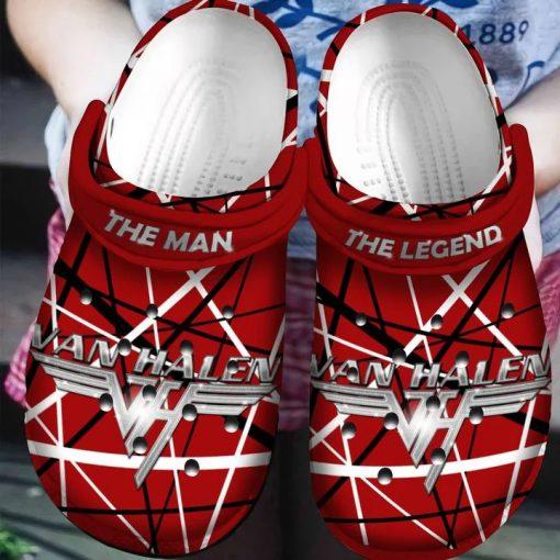Eddie Van Halen Crocs Crocband Clog 1