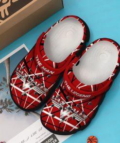 Eddie Van Halen Crocs Crocband Clog
