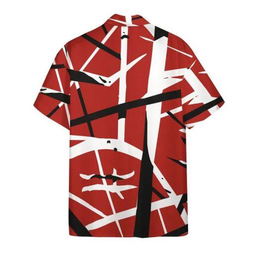 Eddie Van Halen Guitar Pattern Hawaiian Shirt