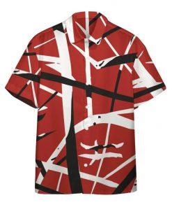Eddie Van Halen Guitar Pattern Hawaiian Shirt1