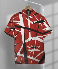 Eddie Van Halen Guitar Pattern Hawaiian Shirt4